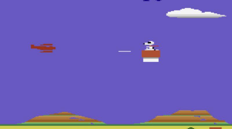 بازی آنلاین آتاری اسنوپی و رد بارون Snoopy and the Red Baron