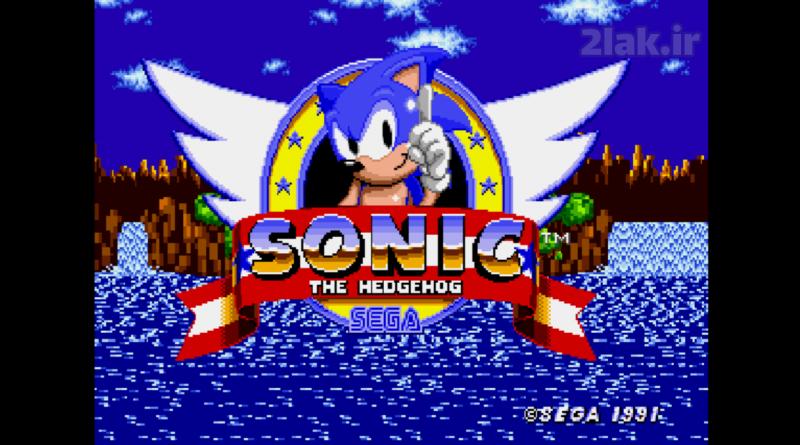بازی آنلاین سگا سونیک کلاسیکس Sonic Classics - سونیک خارپشت سونیک خارپشت Sonic the Hedgehog