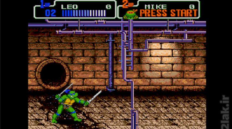 بازی آنلاین سگا لاک پشت های نینجا – بازگشت شردر Teenage Mutant Ninja Turtles: Return of the Shredder