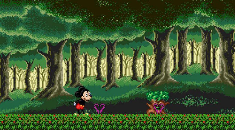 بازی آنلاین قلعه توهم با حضور میکی ماوس - سگا Castle of Illusion Starring Mickey Mouse