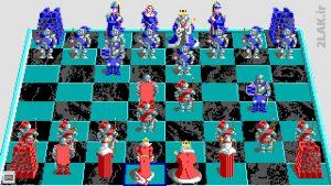 بازی آنلاین شطرنج جنگی Battle Chess پلتفرم DOS