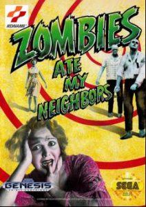 بازی آنلاین سگا زامبی ها همسایه های من را خورده اند Zombies Ate My Neighbors
